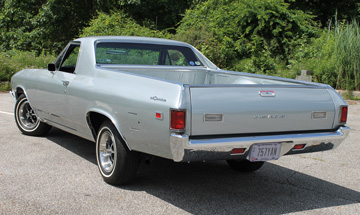 El Camino: the Dr Pepper of classic cars. |