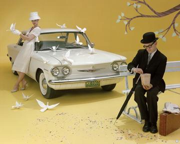 1960 Corvair 500 4-Door Sedan © General Motors.