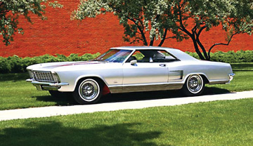 The beautiful 1963 Buick Riviera was one of Bill Mitchell's masterpieces.