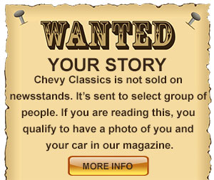 Wanted Your Classic Car Story