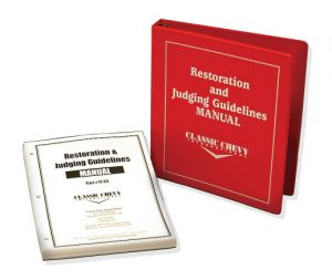 Restoration Judging Guidelines Manual